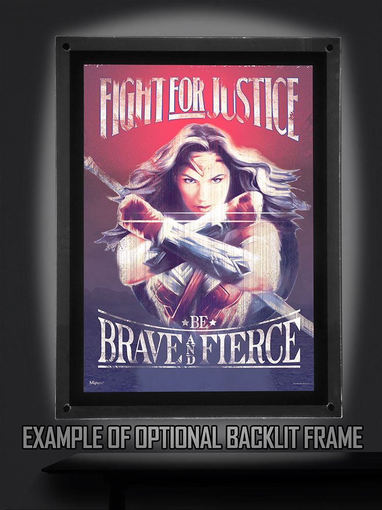 Wonder Woman Fight For Justice Mightyprint Wall Art Mp17240303