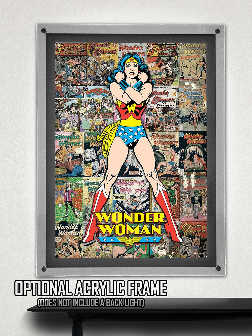 DC Comics Originals (Wonder Woman Collage) MightyPrint