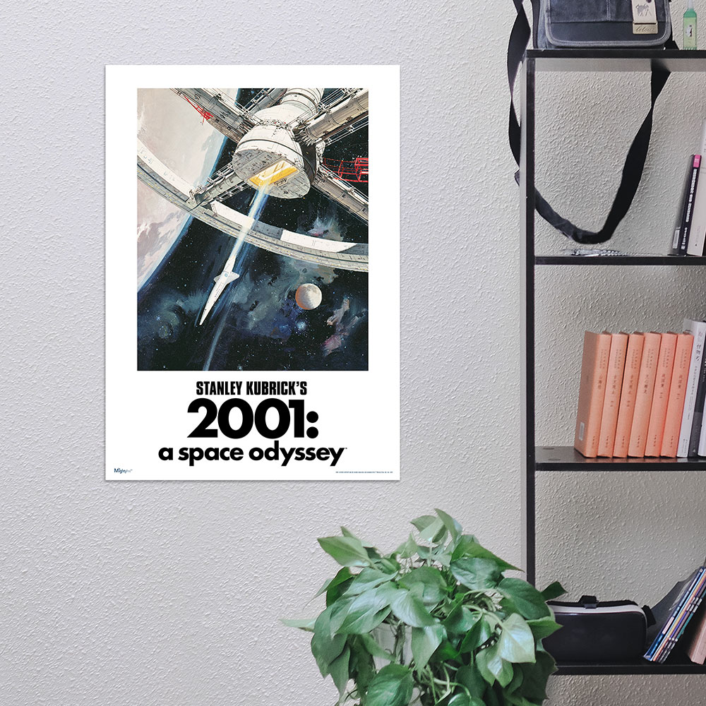 2001 A Space Odyssey (The Ultimate Trip) Mightyprint™ Wall
