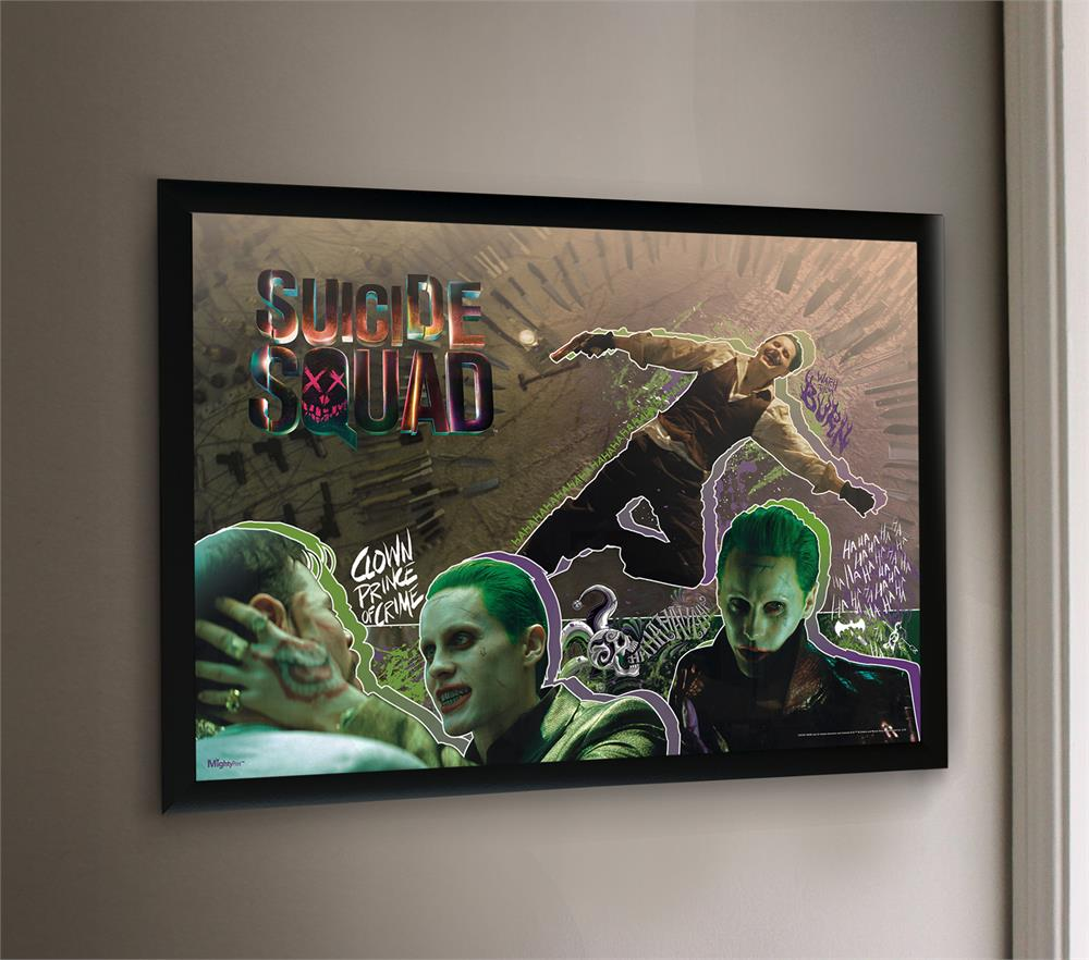 Suicide Squad The Joker Mightyprint Wall Art Wall Art