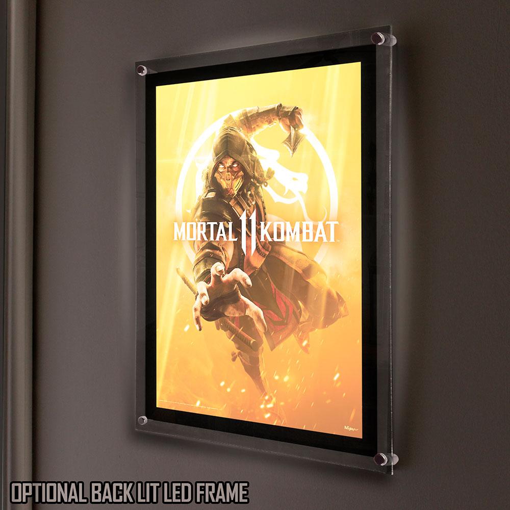 Mortal Kombat 11 Get Over Here Mightyprint Wall Art Mp17240534