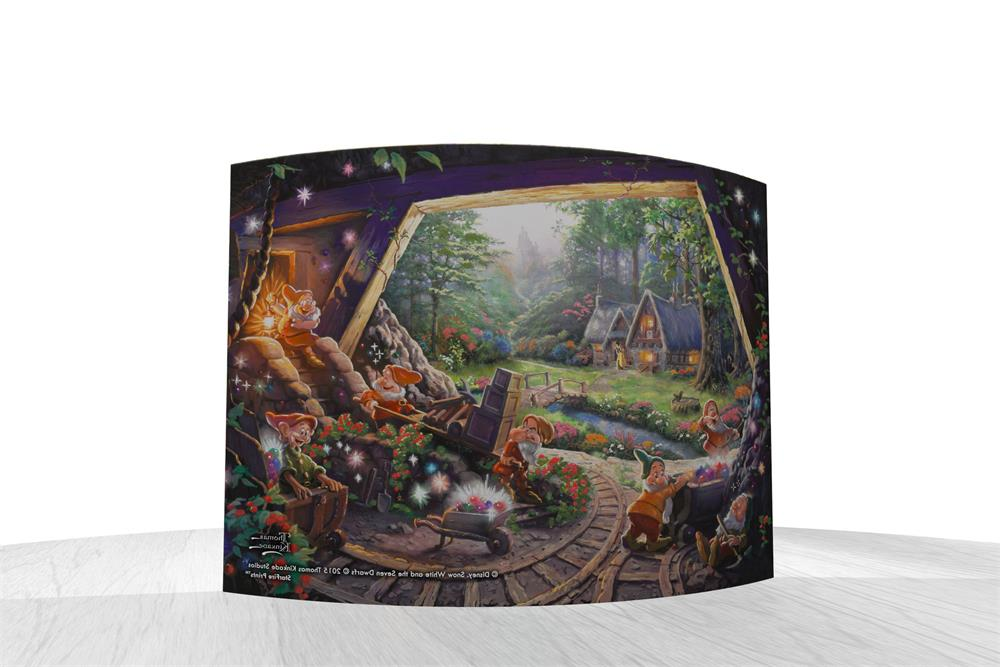 Thomas Kinkade Studios Snow White And The Seven Dwarfs