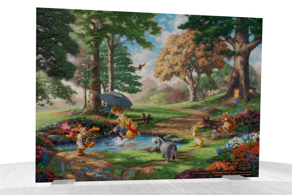 Thomas Kinkade Winnie The Pooh I Starfire Prints Beveled