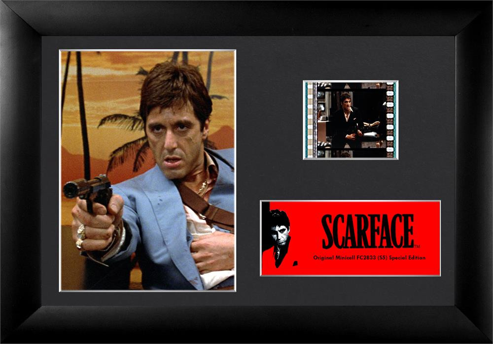 Scarface Tony Montana Blue Suit Authentic 35mm Filmcells