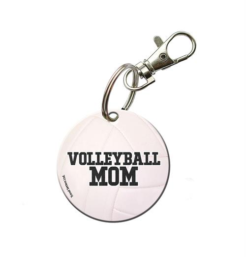 Show off the volleyball star in your life with this personalized acrylic keychain. Put the name and number of your volleyball player on this ball design and keep this on your keychain