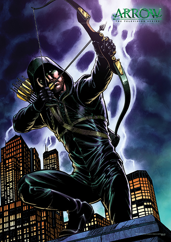 Thanks to the live action television series, Arrow, the Green Arrow has greatly expanded his fan base. But what would the new television version of the classic DC Comics superhero look like in a comic book? It turns out he would look awesome.