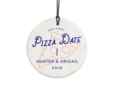 There is a handful of defining moments in a relationship that you really must commemorate.  Your first pizza date is obviously in at least the top 3. What better way to judge a potential soul mate than by seeing what they eat on their pizza?