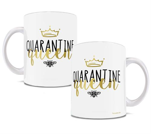 Did you pick up a new hobby? Binge watch the infamous Tiger King on Netflix? However you spent your time social distancing, this 11 oz white mug is here to remind you that you are a queen!