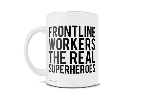 Thank you to all who are working through this pandemic – you are truly a hero! You may wear a mask instead of a cape, but you are a hero in our eyes. This 11 oz white ceramic mug is the perfect way to thank your favorite essential worker.