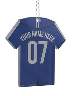 Now, you can show your Quidditch team pride off with a personalized Ravenclaw Jersey. Add your name and number to this hanging acrylic decoration to show which house you want to win it all this year!
