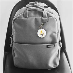 You've been sorted into Hufflepuff and are proud of it! Show your sorting with a personalized keychain, complete with your name. Your Hufflepuff pride will look great on a backpack, set of keys and more.