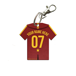 You've read about Quidditch in the books, seen it in the movies and maybe even played it in the field. Now, you can show your Quidditch team pride off with a personalized Gryffindor Jersey.