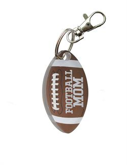 Touchdown! Show off the football player in your life with this personalized football acrylic keychain. Put this football on your keychain, bag, window or wherever you want to display!