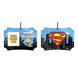 Nothing can stop you from making sure your world is safe. Now, show off to the world that you're Supergirl with this personalized hanging metal decoration. Add your photo and name so that everyone remembers what you're also known as.