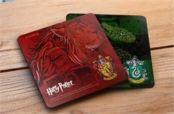 Harry Potter Hogwarts Houses Hardboard Coaster Set