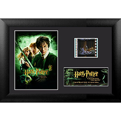 The chamber is open, do you dare enter? Remember the Chamber of Secrets with this collectible Minicell of Harry Potter and the Chamber of Secrets. Each framed minicell comes with an authentic filmcell from the movie. This is a perfect piece for the Harry
