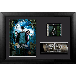 Sirius Black has escaped Azkaban! Remember the crazy plot twists within Harry Potter and the Prisoner of Azkaban with this MiniCell. Each framed MiniCell comes with an authentic film cell from the movie. This is a perfect piece for the Harry Potter fan in