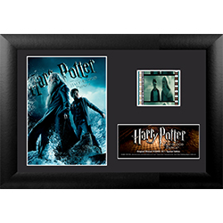 The beginning of the end is near. Start your search for the Horcruxes with this collectible MiniCell of Harry Potter and the Half-Blood Prince. Each framed MiniCell comes with an authentic film cell from the movie. This is a perfect piece for the Harry Po