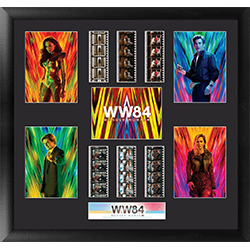 Are you excited to see what adventures are in store in the upcoming Wonder Woman 1994? So are we! Included on this licensed collectible display are six (6x) film strips from Wonder Woman 1984, showing memorable scenes that are carefully selected.