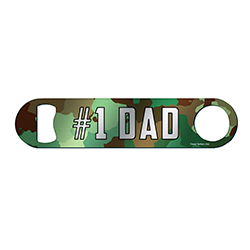 For when you need to open your bottle but you're in the forest and you don't want anyone to see that you have it but, at the same time, you kind of want them to know you're the #1 Dad.