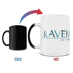 Wit. Learning. Wisdom. As a Ravenclaw, you exude all of these qualities and more! Show the world how proud you are to belong to the same Hogwarts house as Luna Lovegood with this 11 oz color changing coffee mug.