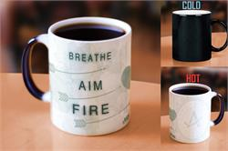 Arrow (Breathe Aim Fire) Morphing Mugs Heat-Sensitive Mug