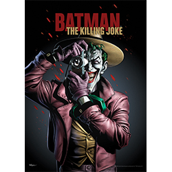 This MightyPrint™ Wall art features the Joker from one of the most controversial and talked about graphic novels by DC Comics.  Not only is it one of the Joker's most horrifying stories but it laid the groundwork for the appearance of Oracle.