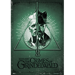 Grindelwald and Dumbledore or should we say the deathly dual. The Elder Wand divides them but our officially licensed MightyPrint™ Wall Art brings them to life. It's extremely tough and shows off vivid details which is perfect for hanging up at your house