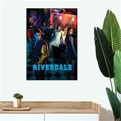The Riverdale gang hangs out at Pop's in this MightyPrint™ Wall Art. Archie, Betty Veronica, Jughead and others take a break from uncovering the dark secrets in Riverdale. Perfect for series fans!