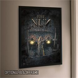 Is it a nun exploring the catacombs, or a demon looking for its next victim? Whatever you see, this MightyPrint™ Wall Art of The Nun will help capture the horror in your room.