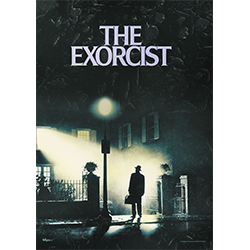 Horror fans all remember the first time they saw The Exorcist. Now, you can commemorate that moment forever with this MightyPrint™ Wall Art. This wall art captures the cover of the movie, the pivotal moment before the exorcism is set to begin.