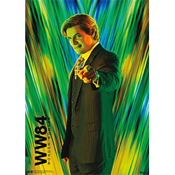 "On this 17"" x 24"" MightPrint Wall Art, Maxwell Lord is pointing into your soul as he sports a luscious hair style and hold patterned tie."