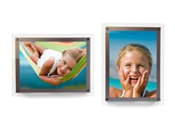 "This acrylic wall mount is designed to give your 14"" x 10"" PolyPix™ Light Film Prints a gallery-worthy display."
