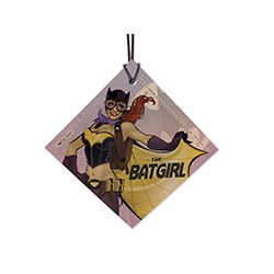 The Batgirl, Barbara Gourdon, is a French pilot … and vampire. Yep. The DC Bombshells alternate history gives one of our favorite Bat-Family members a new story and a cool new Steampunkish style.  Bring the DC Bombshells to your tree or window