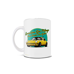 Gas is the cheapest it has been in years, but there is no use for it as your car is currently getting roughly three weeks per gallon. This 11 oz ceramic mug is perfect for those whose car is soaking in its time being at a standstill.