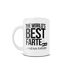 If your dad spends his time eating beans and aiming to toot loud enough to be heard from the opposite end of the house, this 11 oz ceramic mug is the perfect gag gift for him this Father's Day!