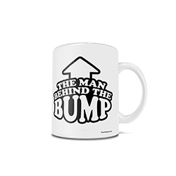 You are the man behind the bump. Congratulations on your upcoming bundle of joy! Show how proud you are to be a father with this 11 oz ceramic mug while your child's mother endures the nine months of pregnancy.