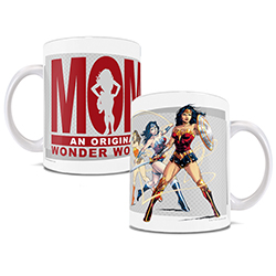 Mom was the first wonder woman you knew. And she didn't even need a lasso of truth.     Gift her this officially licensed DC Comics mug and let her know you recognize her powers.