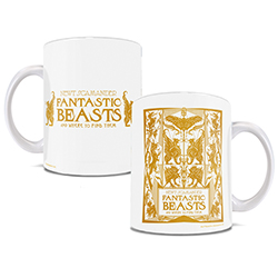 Hey, Mr. English Guy! I think your mug is hatc….     Drink from this officially licensed Fantastic Beasts The Crimes of Grindelwald mug while enjoying the book or movie.