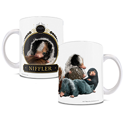 The baby Nifflers might be cute but I bet losing all your valuables isn't. At least they won't steal your favorite beverage from the mug.