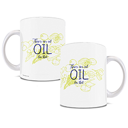 Headache? Indigestion? Stress? Annoying coworkers who interrupt your quiet coffee time? There's (probably) an oil for that, and there's a mug to show your love of essential oils off.