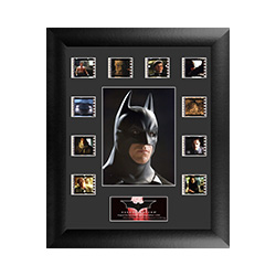 It's not who I am underneath, but what I do that defines me. Celebrate the beginnings of a legend in Christopher Nolan's Batman Begins with this limited edition of 2500 framed FilmCells™ presentation. This collectible features an image of Batman™.