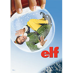 Hang this Elf movie MightyPrint™ Wall Art, featuring Will Ferrell  as Buddy, on your wall and you'll feel like smiling and singing every time you see it. It's bend, tear, and fade-resistant.   It's also made of sugar. No, it's not. But syrup is!