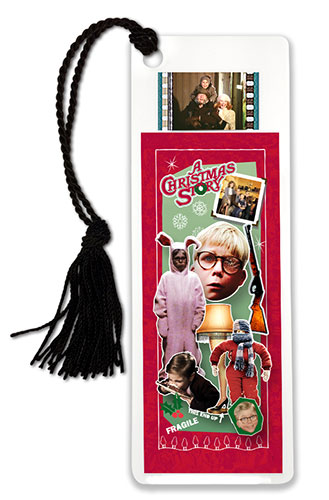 Bring the fun, family, and all American glory of A Christmas Story every time you sit down with a good book (or a bad book, we won't judge) with this FilmCells™ bookmark.